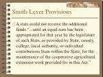 smith lever provisions11