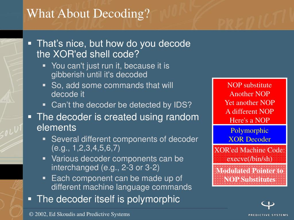What About Decoding?