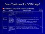 does treatment for scid help25
