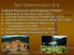 self determination era20