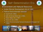 self determination era22