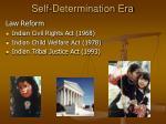 self determination era23