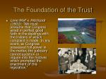 the foundation of the trust39