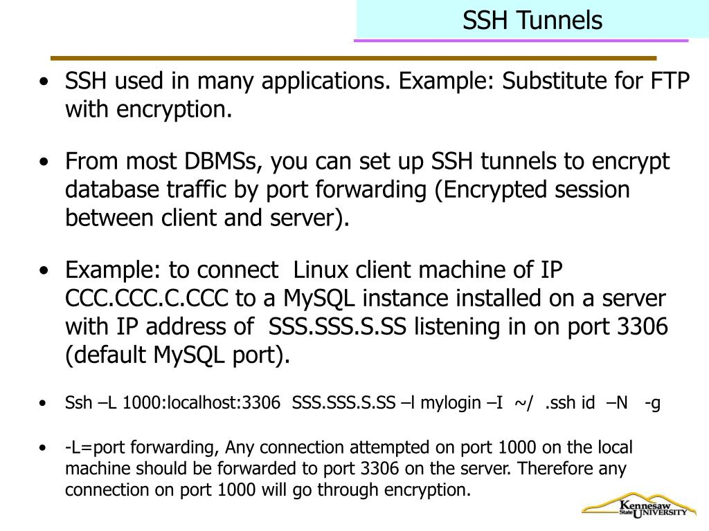 SSH Tunnels