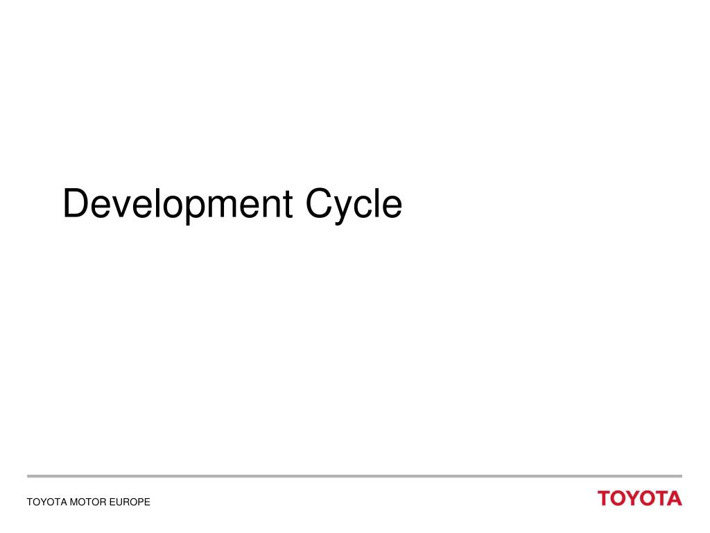 Development Cycle