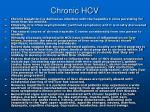 chronic hcv