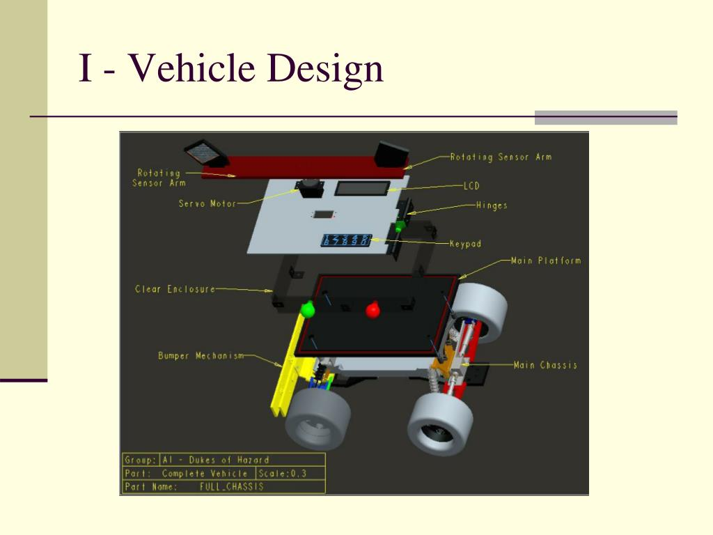 I - Vehicle Design