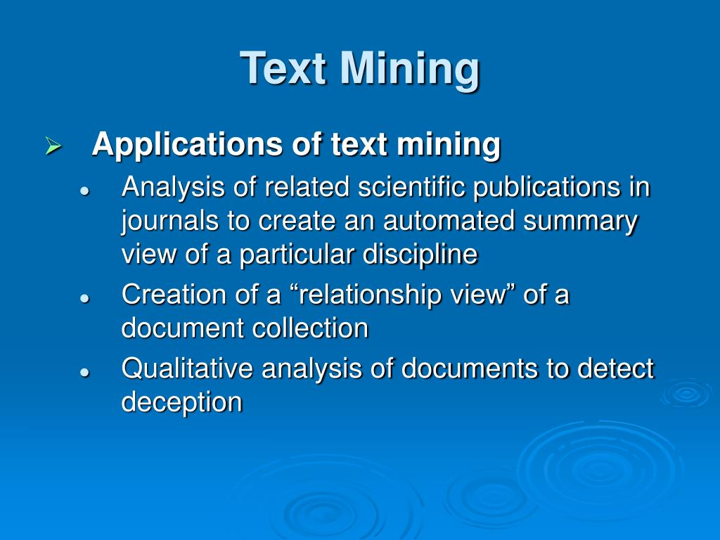 relationship between text mining and web image