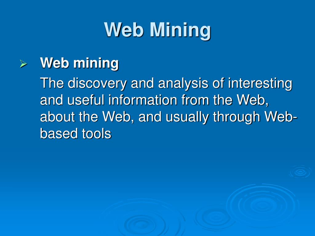 thesis on web text mining