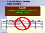 consolidation entries cost method41