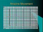 atrazine movement
