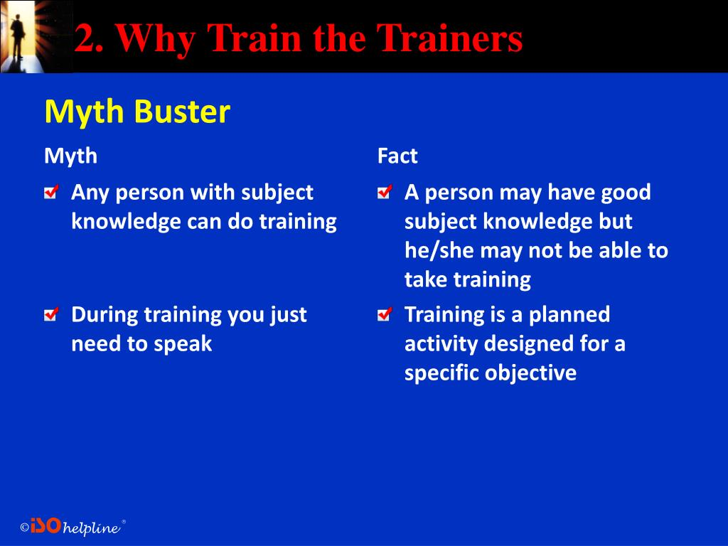 2. Why Train the Trainers