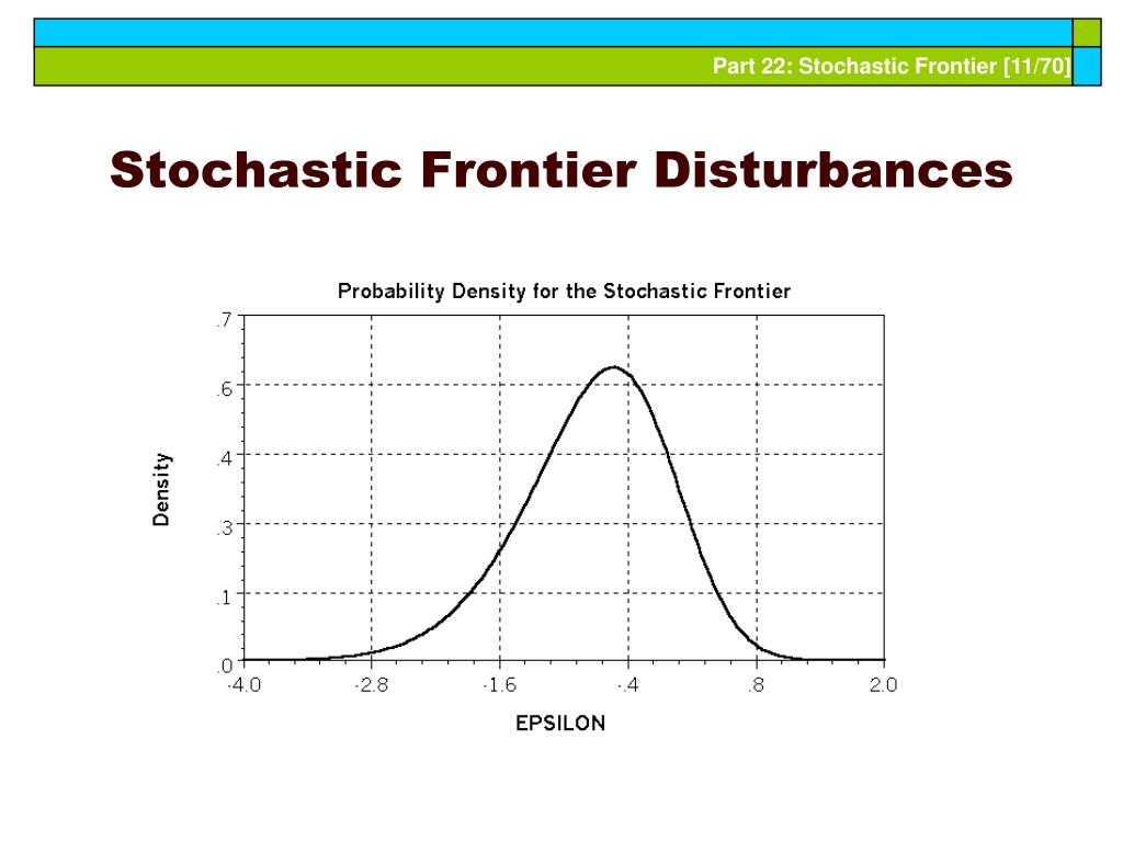 Stochastic Frontier Disturbances