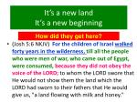 it s a new land it s a new beginning