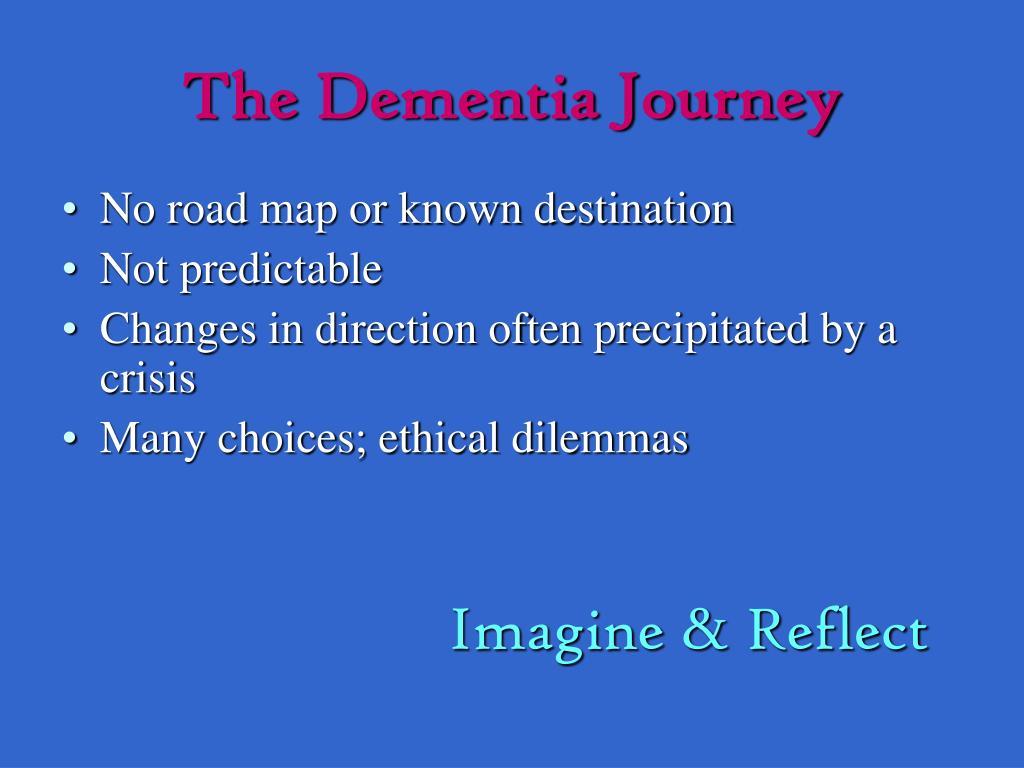 The Dementia Journey