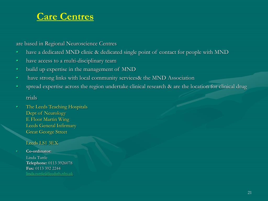 Care Centres