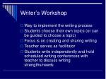 writer s workshop