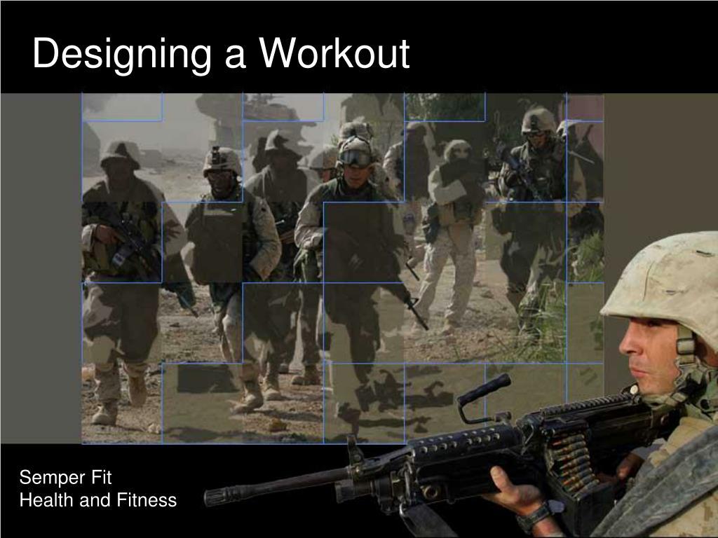 designing a workout