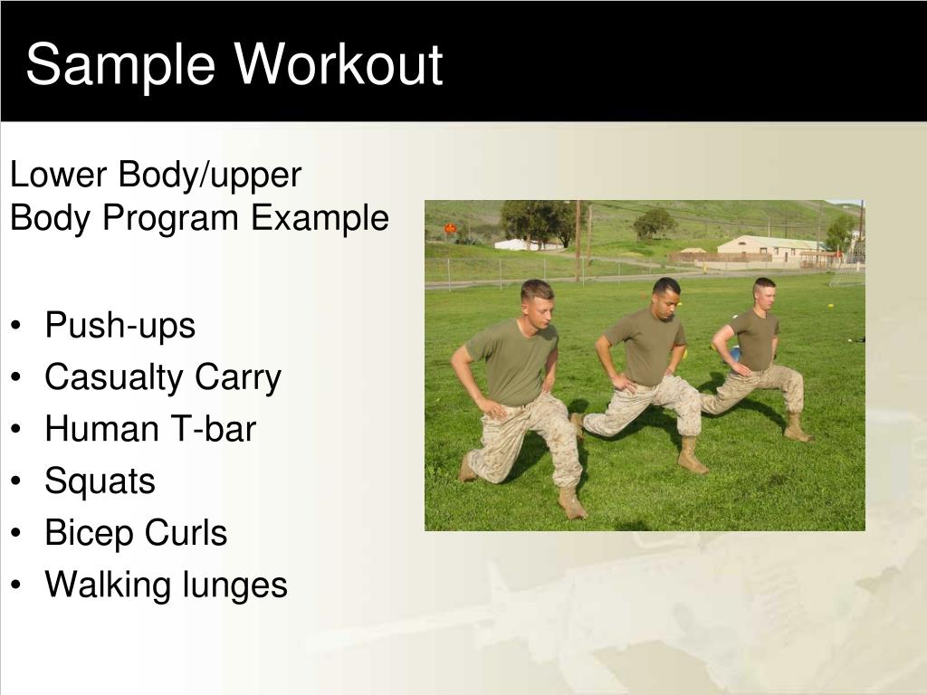 Sample Workout