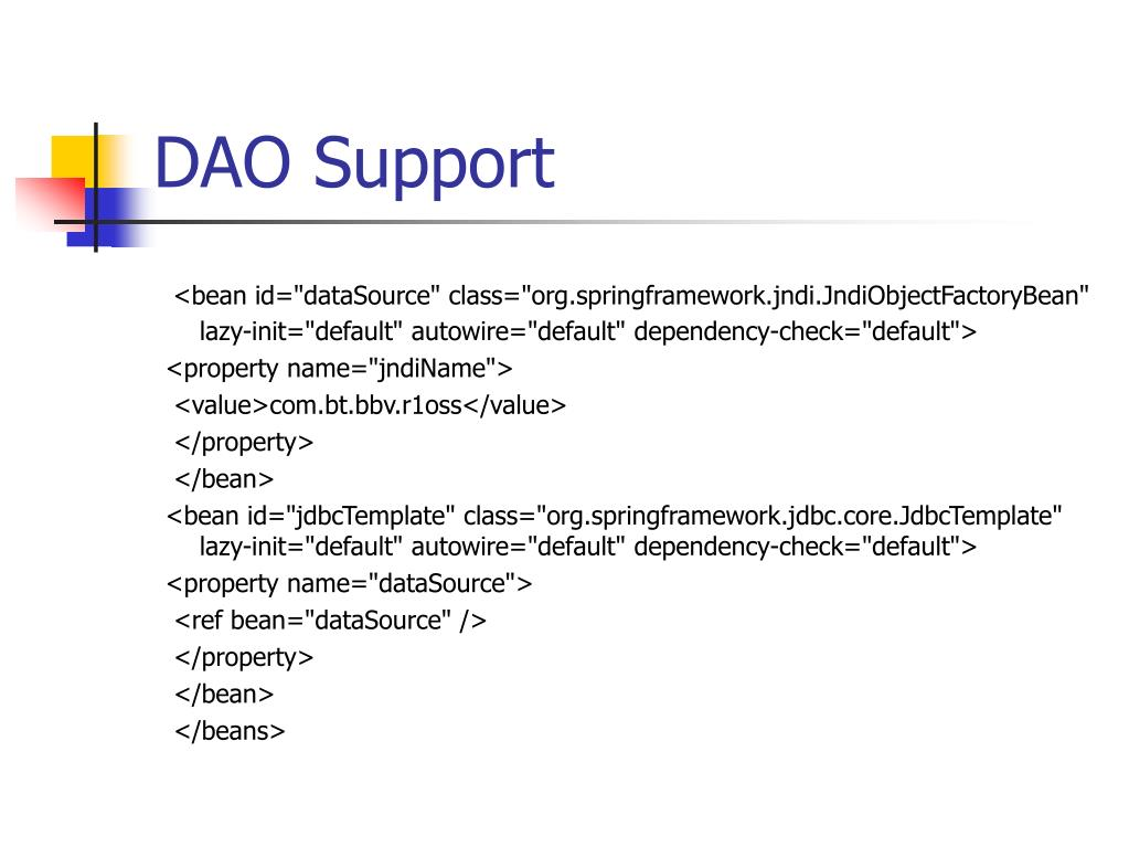 DAO Support