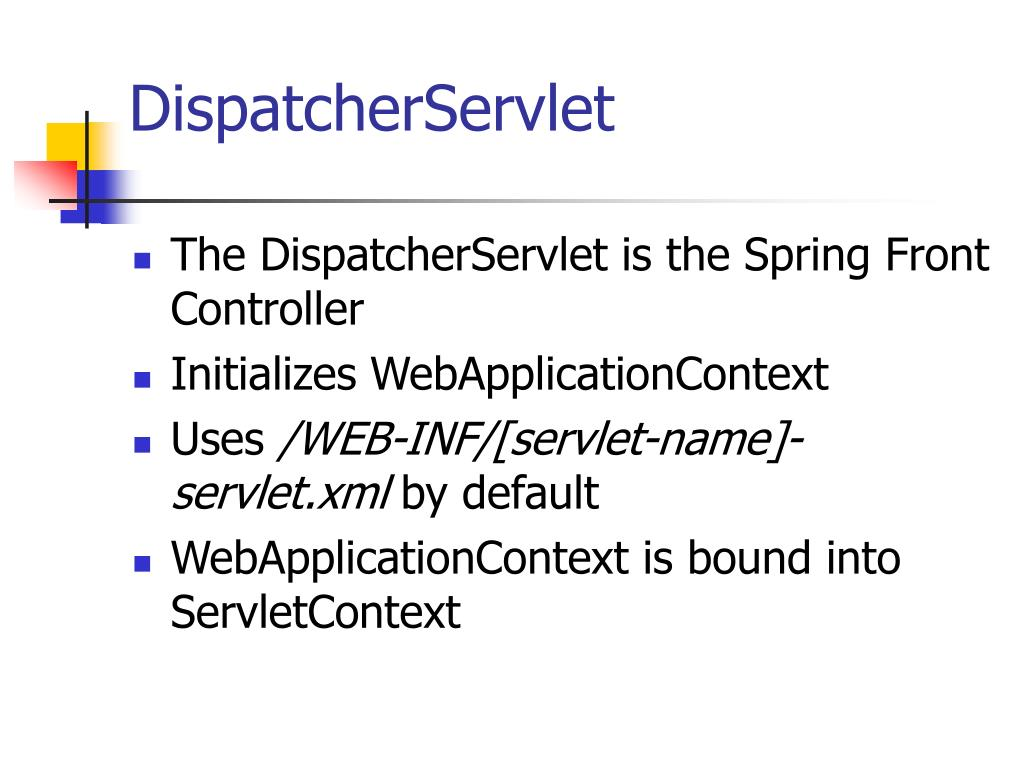 DispatcherServlet