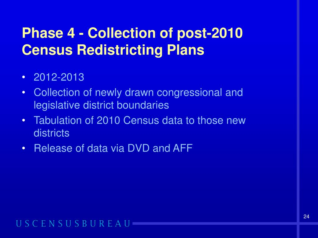 Phase 4 - Collection of post-2010 Census Redistricting Plans