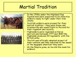 martial tradition