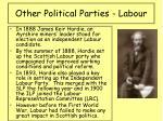 other political parties labour