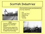 scottish industries