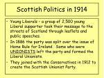 scottish politics in 191415