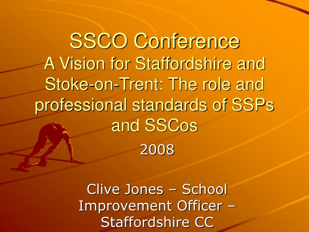 SSCO Conference
