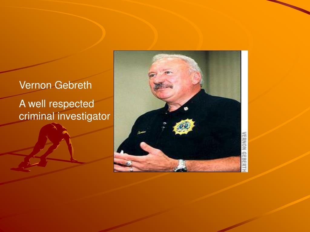 Vernon Gebreth