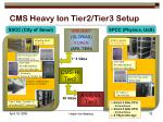 cms heavy ion tier2 tier3 setup
