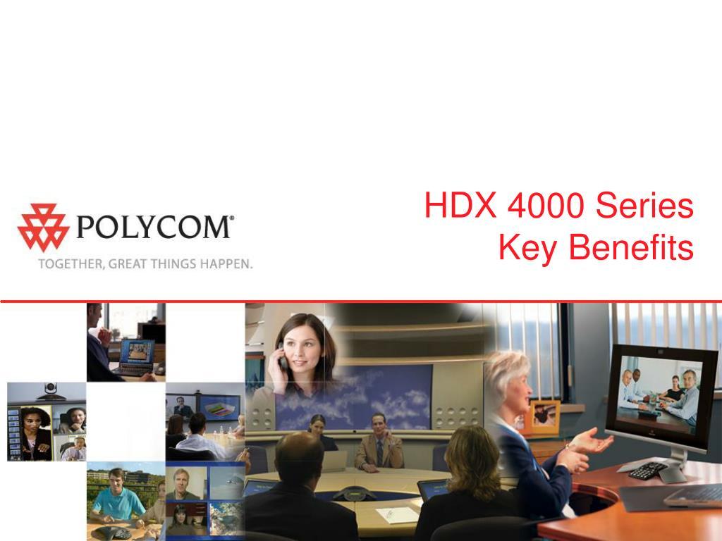 HDX 4000 Series