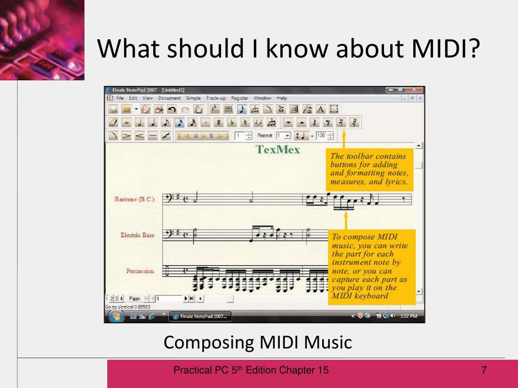 What should I know about MIDI?