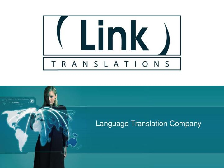 Language Translation Company