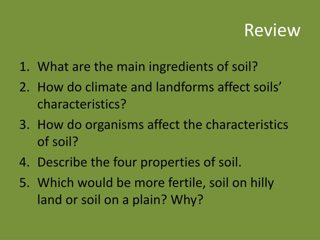 Ppt weathering and soil formation powerpoint for Describe soil