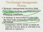 the strategic management process27