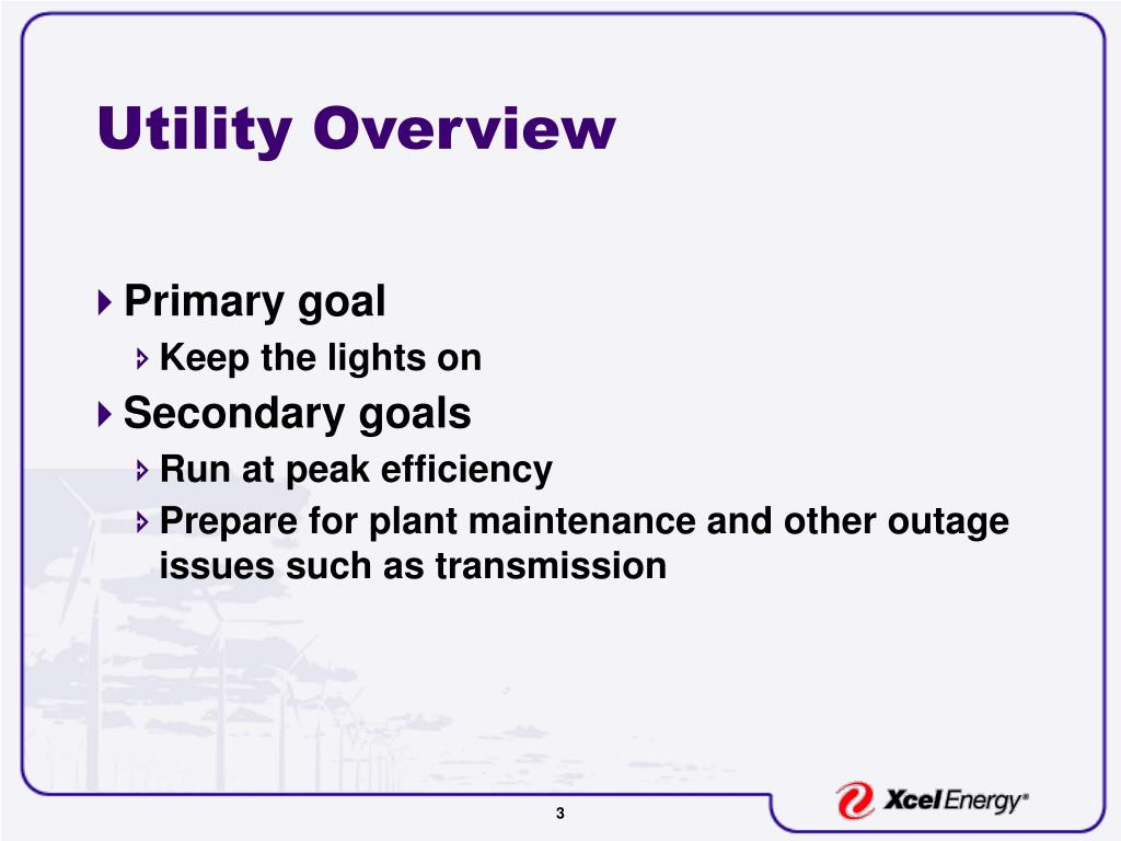 Utility Overview