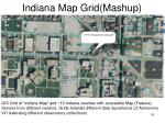 indiana map grid mashup