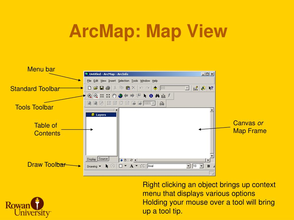 ArcMap: Map View
