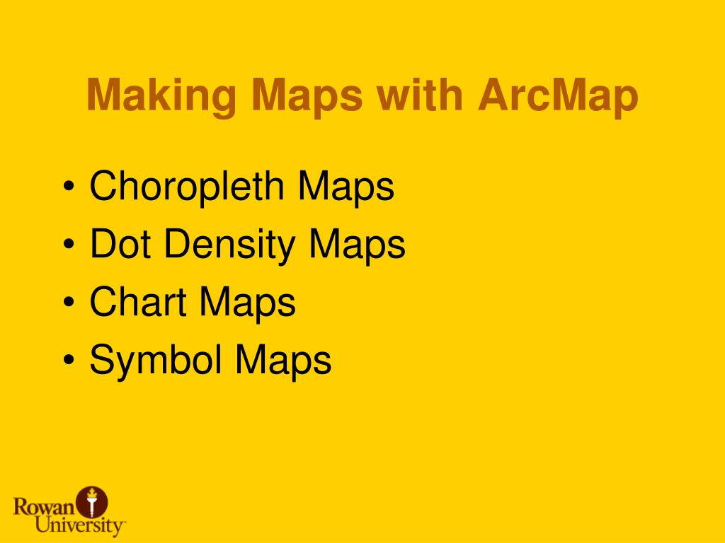 Making Maps with ArcMap
