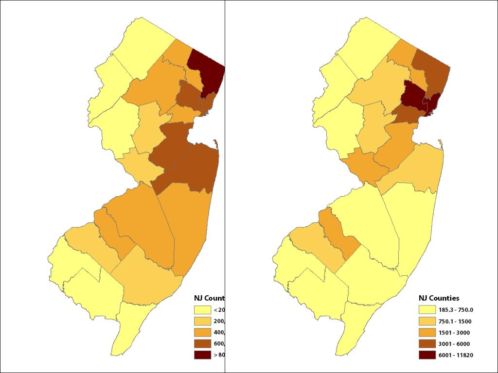 New Jersey Population