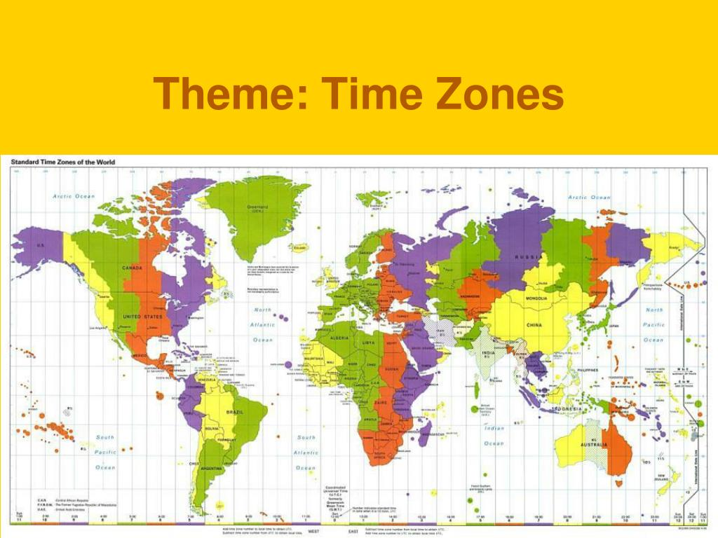 Theme: Time Zones
