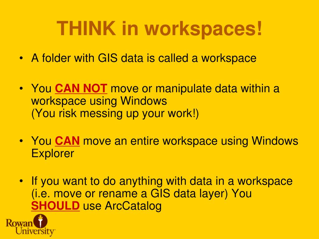 THINK in workspaces!