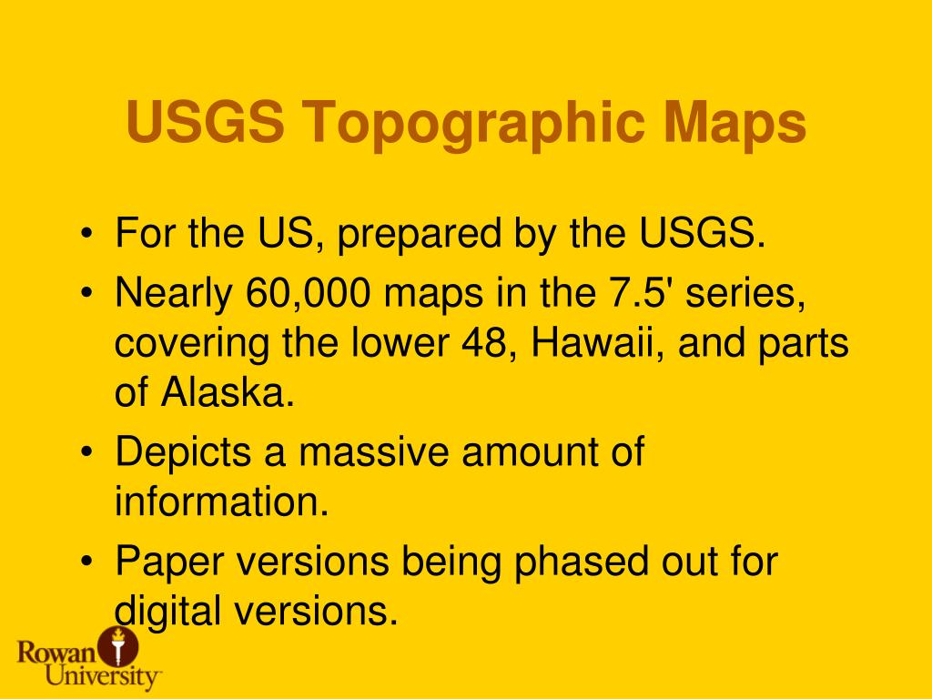 USGS Topographic Maps