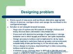 designing problem