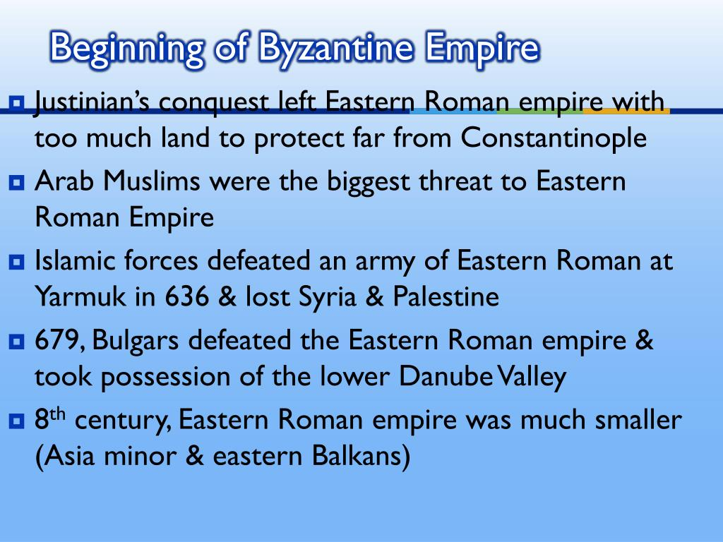 compare and contrast byzantine and islamic empire