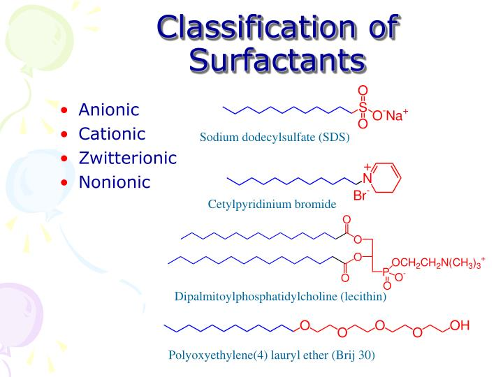 Classification of surfactants l.jpg