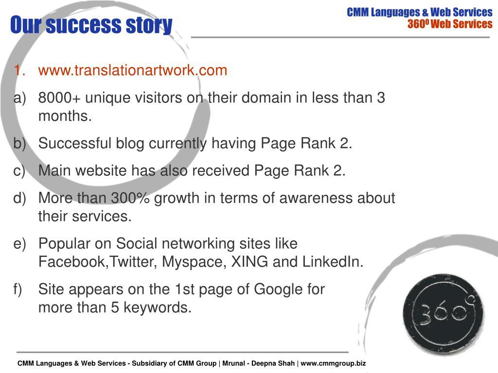 CMM Languages & Web Services